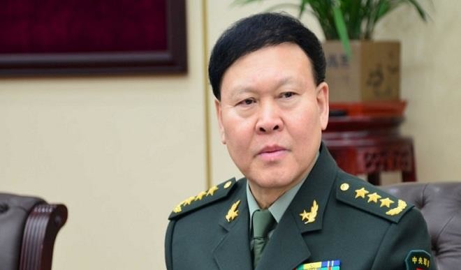 Senior Chinese military official