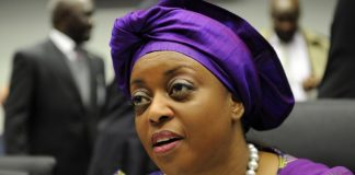 Minister of Petroleum Resources, Mrs. Diezani Alison-Madueke.