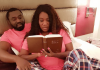 Beautiful photo of Mercy Johnson & her husband