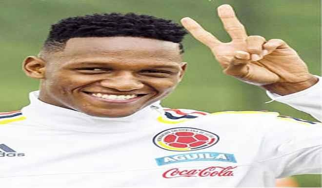 Colombian Yerry Mina