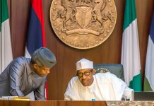 Buhari with osibajo