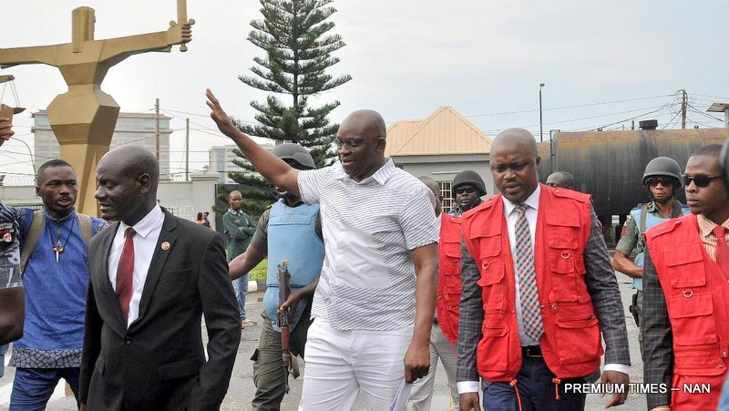 Fayose with EFCC